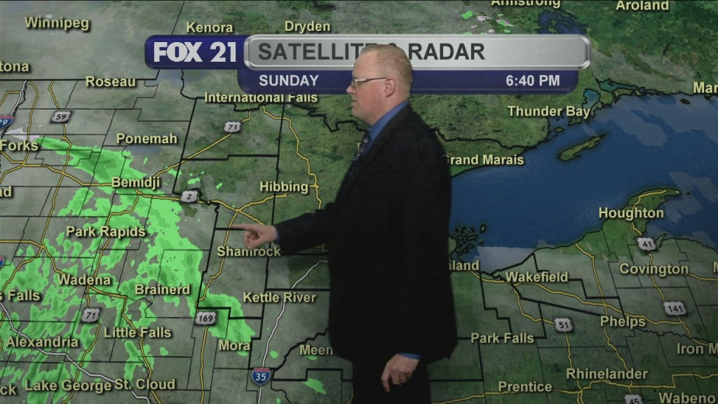 Sunday April 5, 2020, Evening Forecast