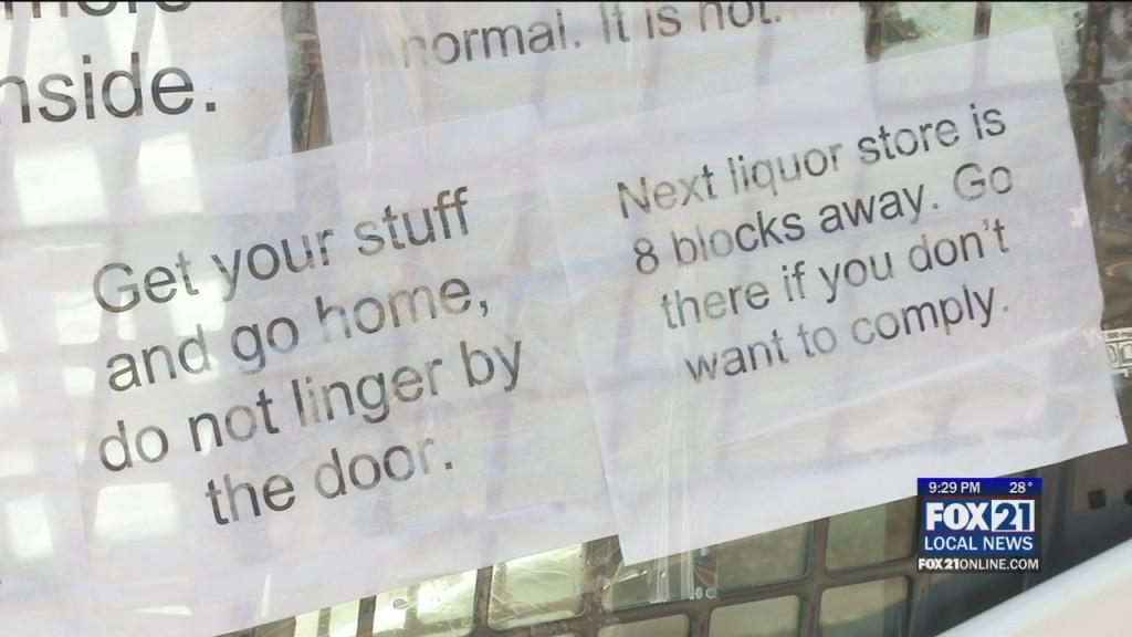Busy Liquor Stores