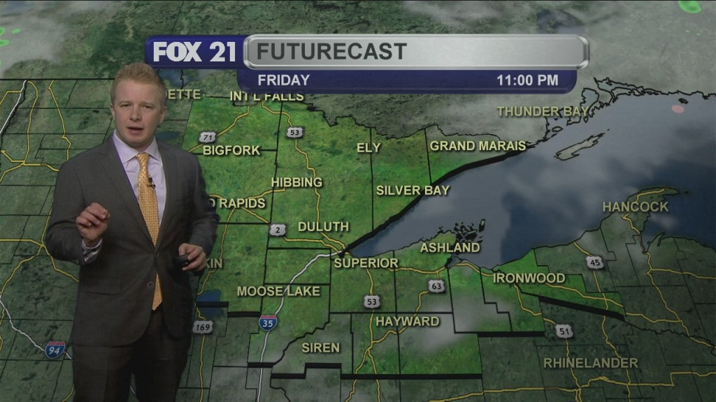 Thursday, April 23rd Evening Weathercast