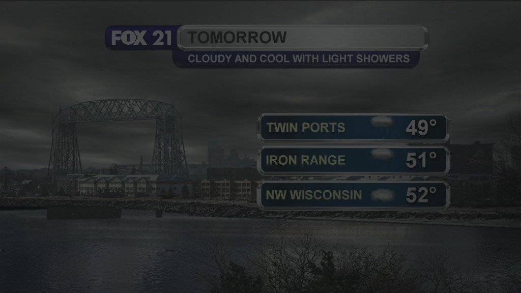Monday Evening, May 4th Forecast
