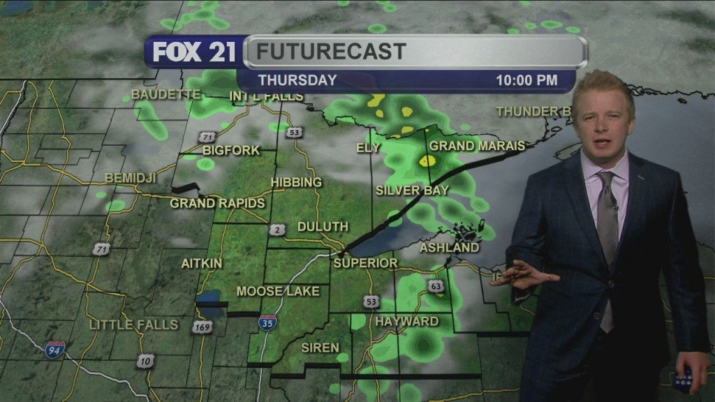 Thursday, May 14th Evening Weather Forecast
