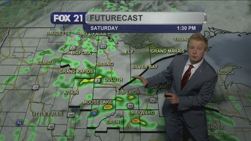 Thursday, May 21st Evening Forecast