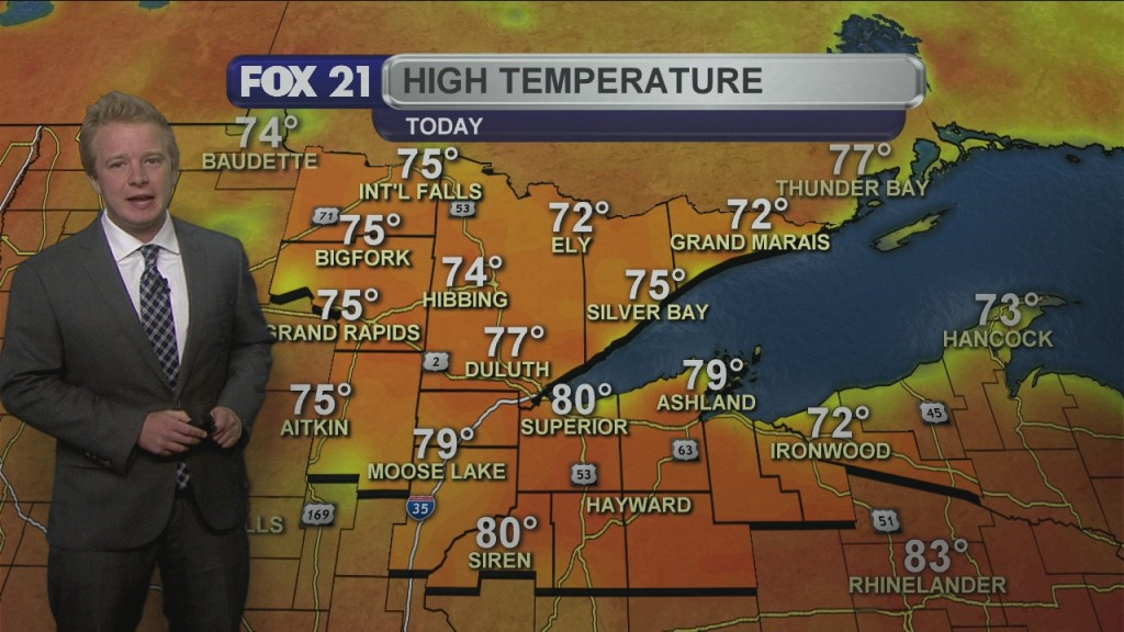 Wednesday, June 3rd Evening Forecast