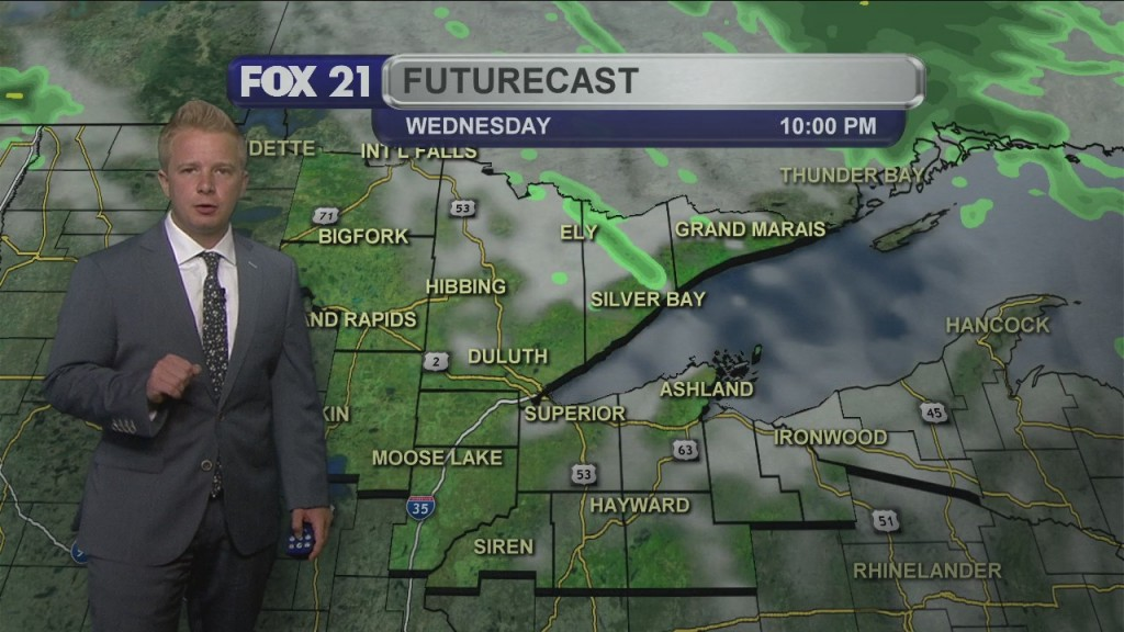 Wednesday, June 10th Evening Weathercast