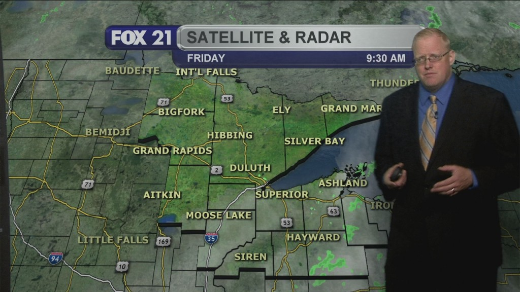 Friday June 19, 2020, Evening Forecast