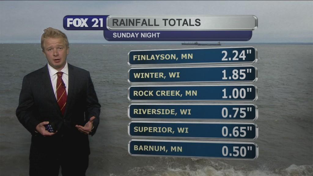 Monday Evening, June 29th Forecast