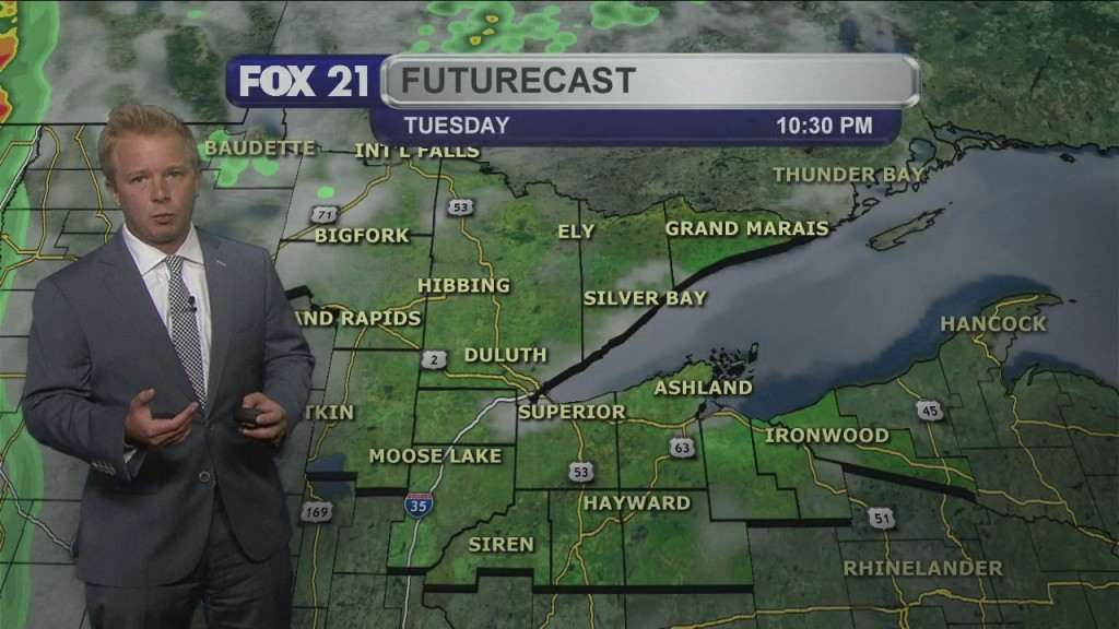 Tuesday Evening, June 30th Northland Forecast
