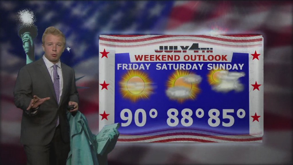 Wednesday Evening, July 1st Northland Forecast