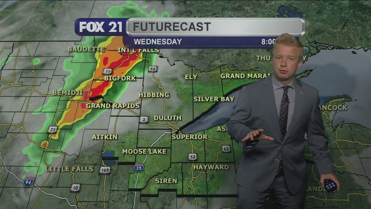 Tuesday Evening, July 7th Forecast