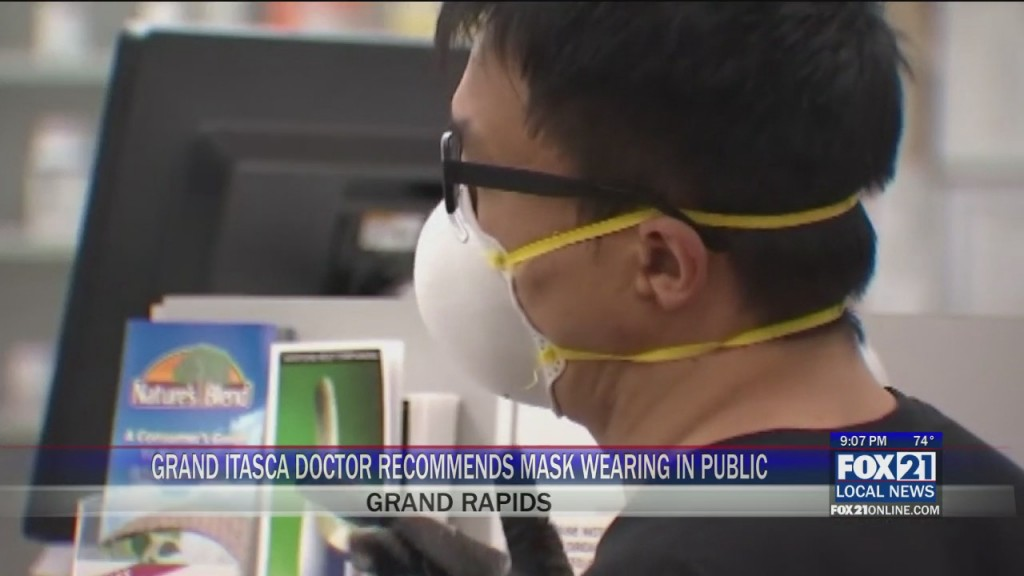 Itasca Co Masks