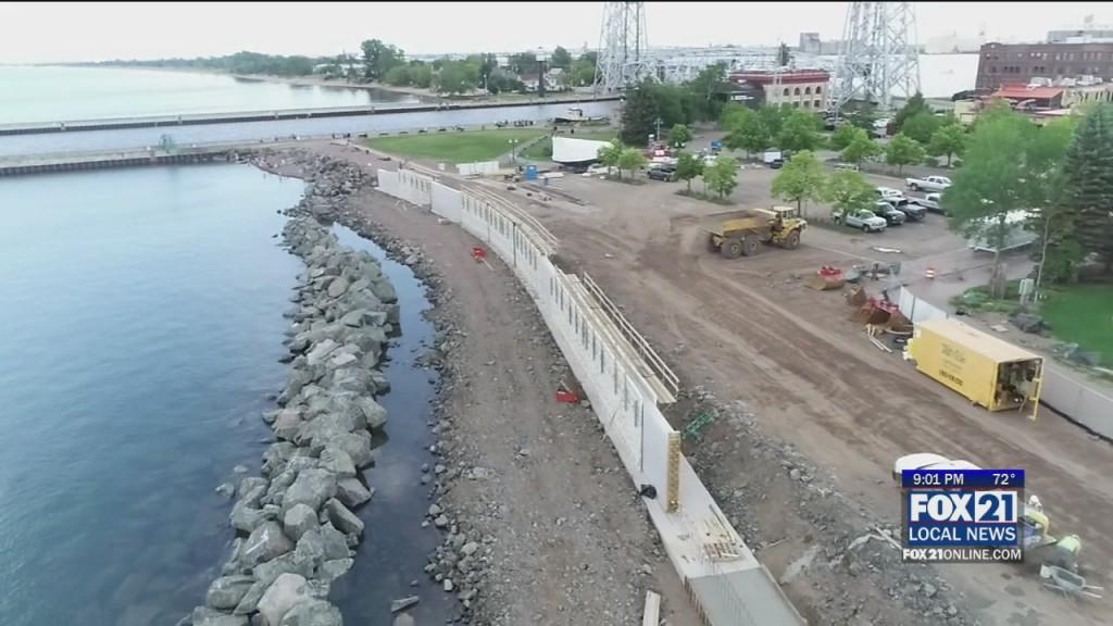 Lakewalk Construction