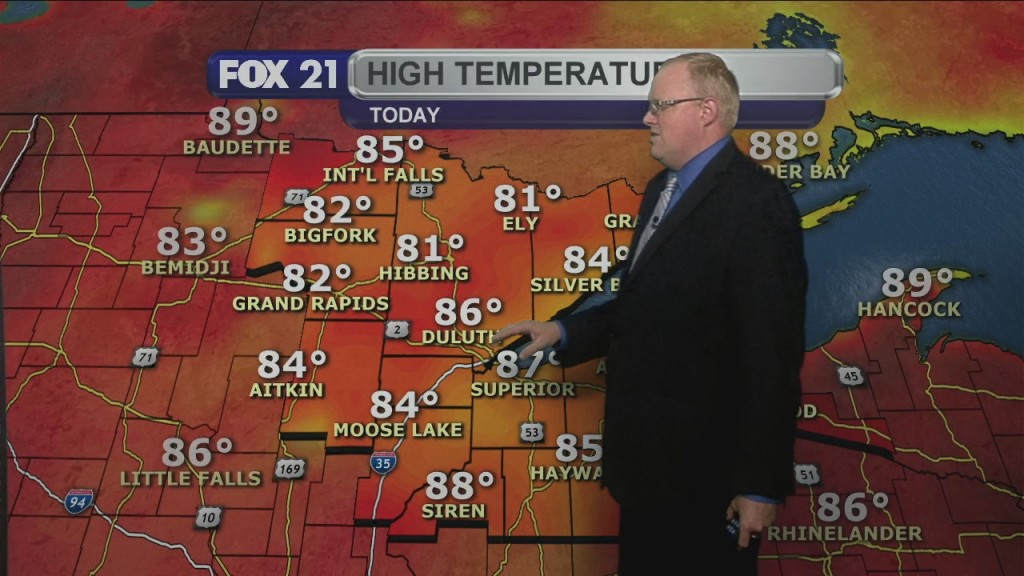 Saturday July 25, 2020, Evening Forecast