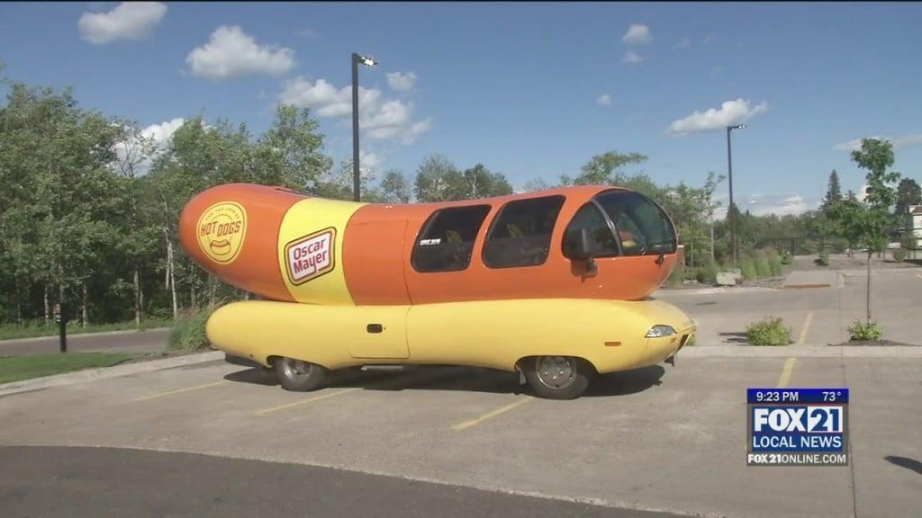 Wienermobile In Town