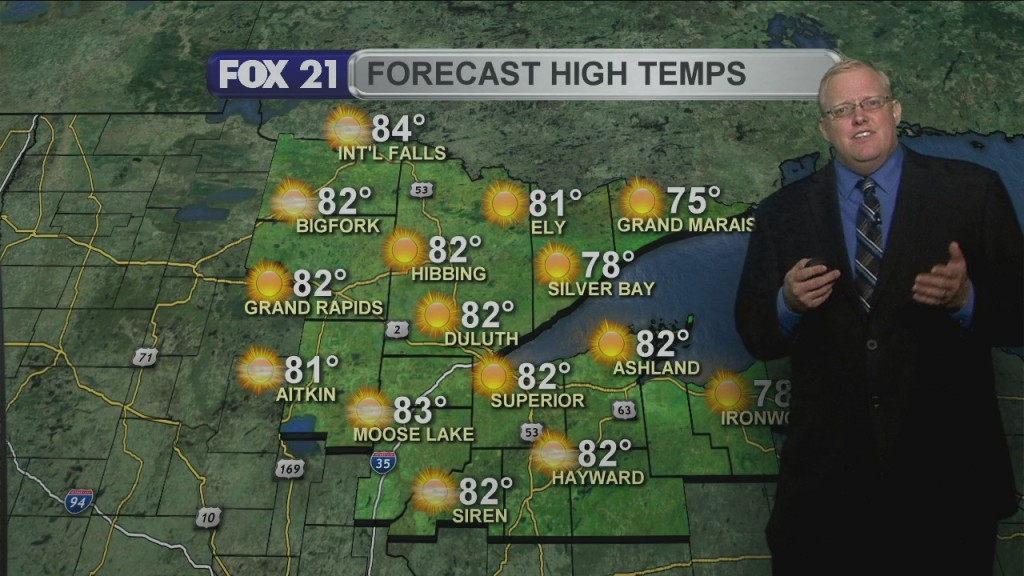 Thursday July 30, 2020, Evening Forecast