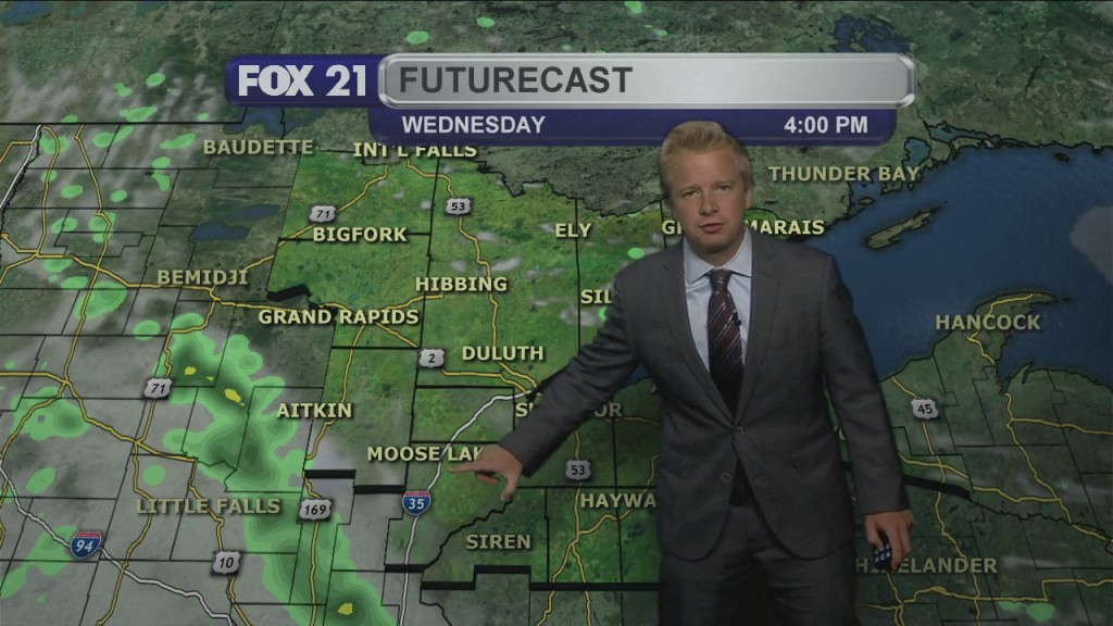 Tuesday Evening, August 4th Weather Forecast