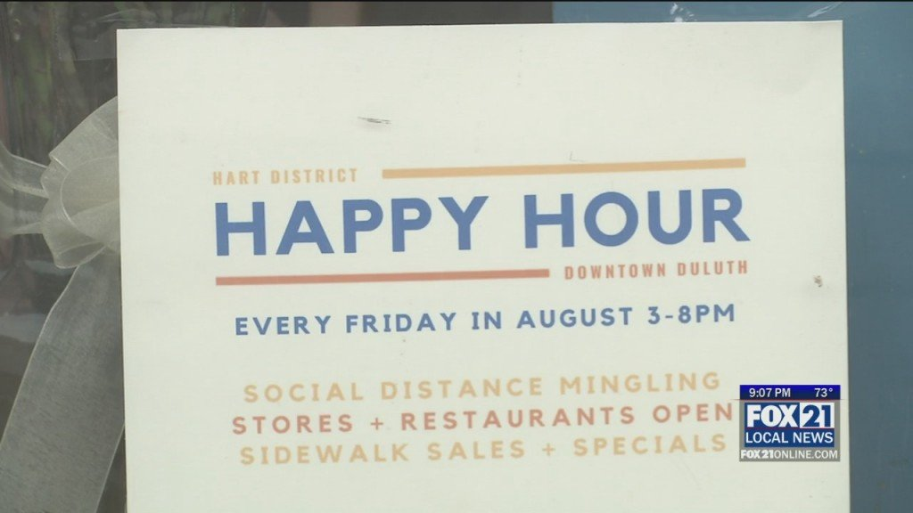 Happy Hour Returns