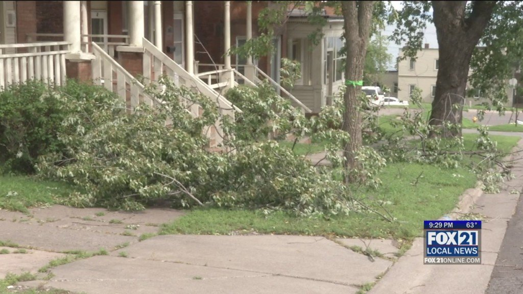 Duluth Storm Damage