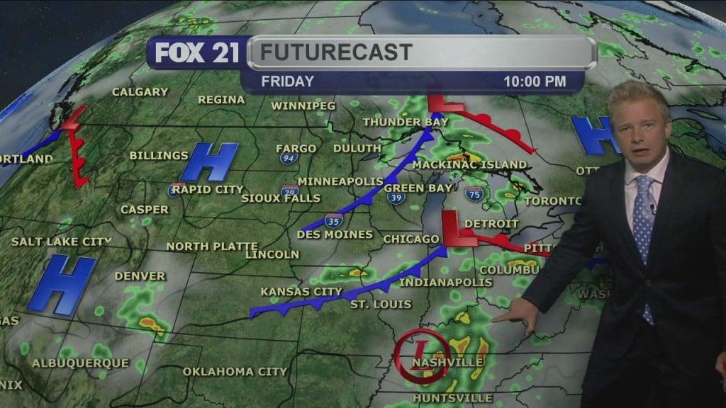 Thursday Evening, August 27th Forecast