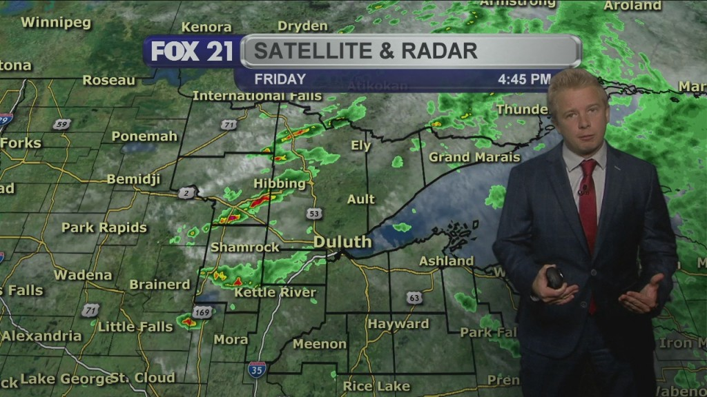 Friday Evening, August 28th Northland Forecast