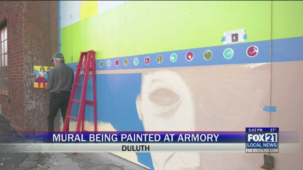 Armory Mural