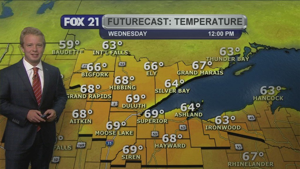 Tuesday Evening, September 22nd Forecast