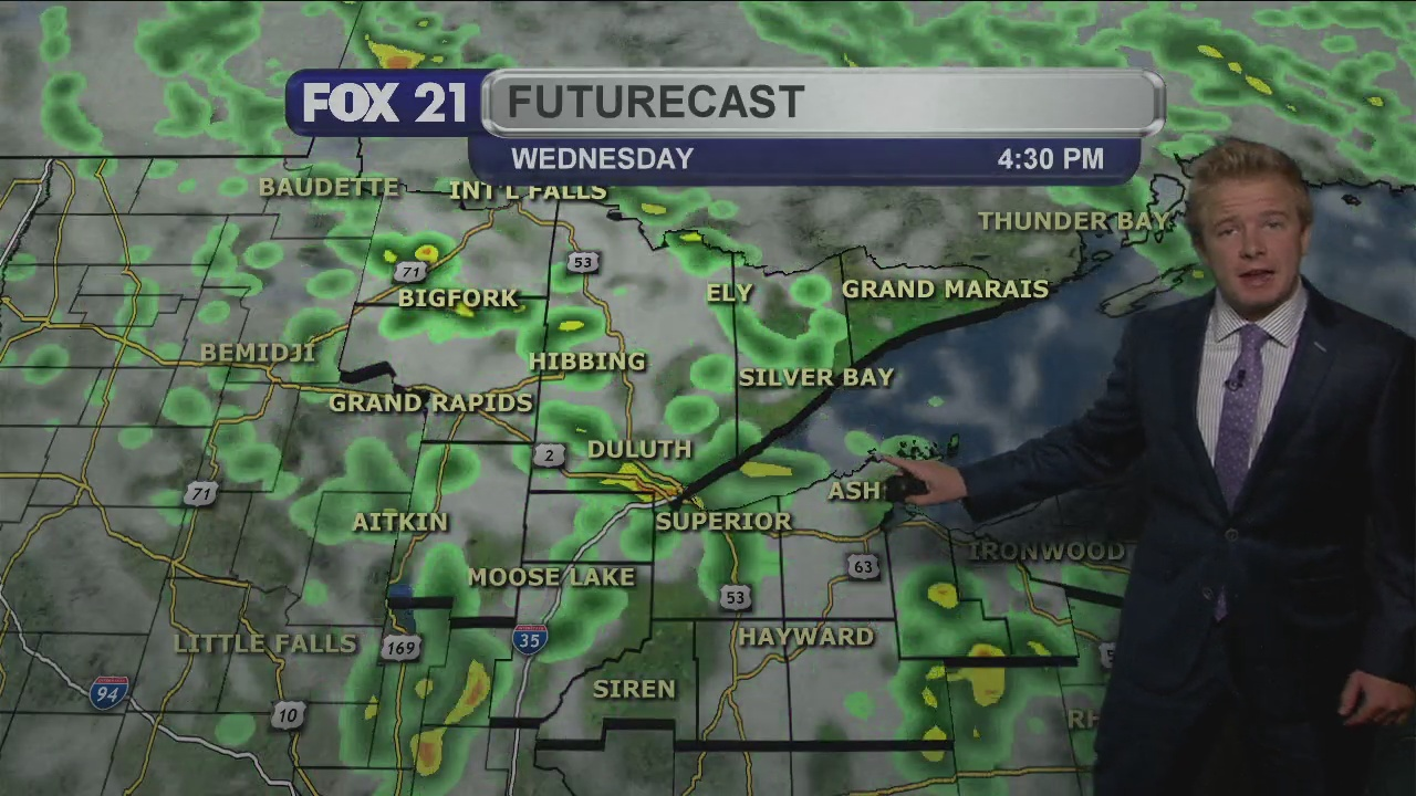 Tuesday Evening, September 29th Weather Forecast