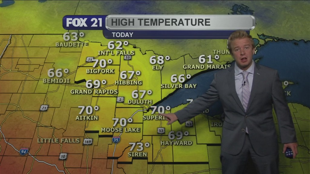 Tuesday Evening, October 6th Weather Forecast