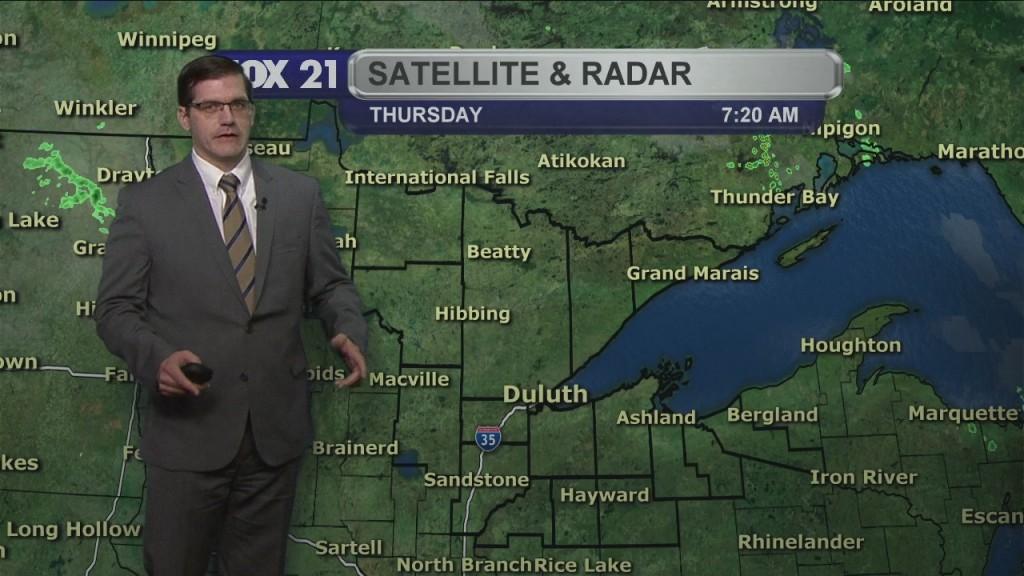 Thursday, October 8, 2020 Morning Forecast