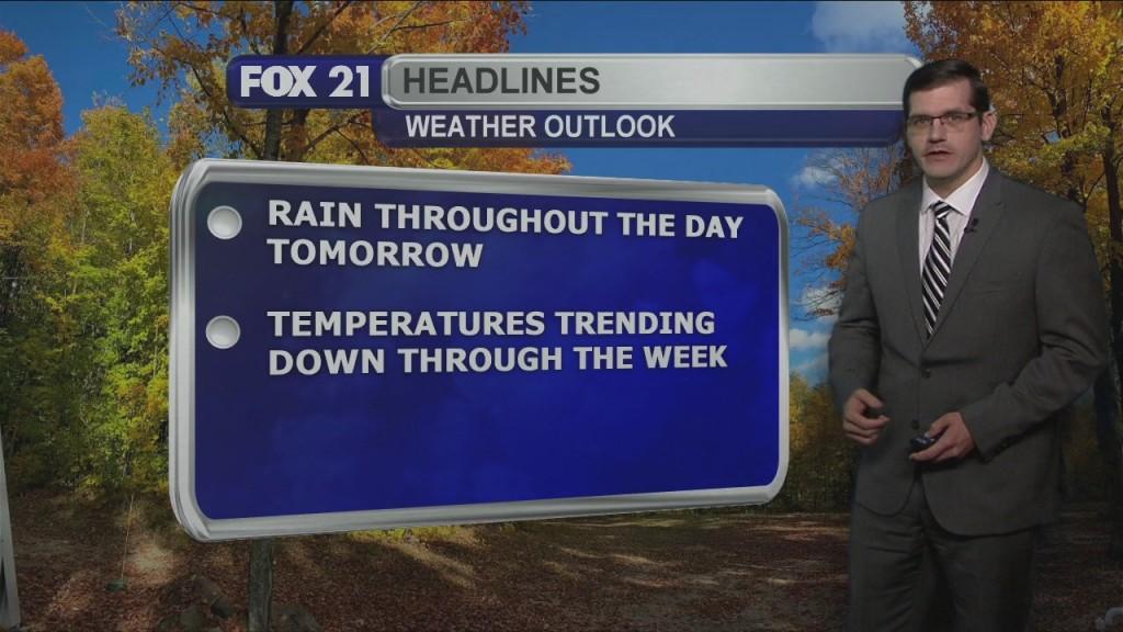 Tuesday, October 13, 2020 Morning Forecast