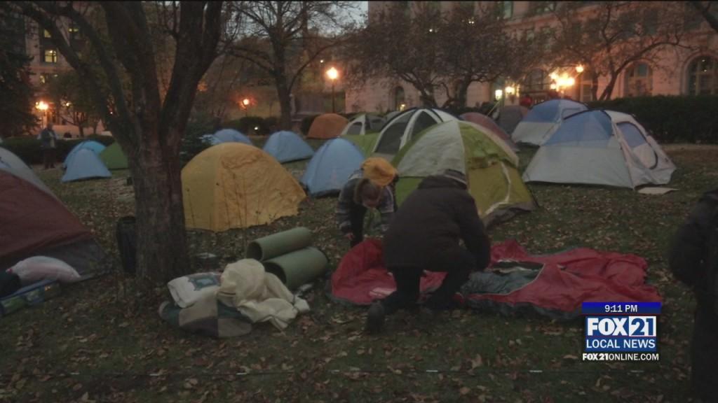 Homeless Rally