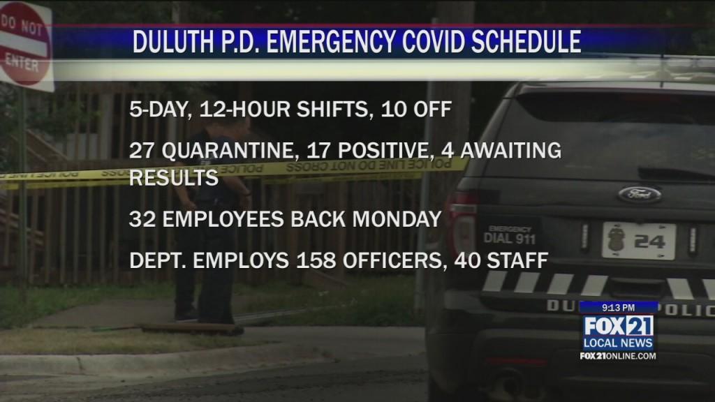 Duluth Pd Schedule
