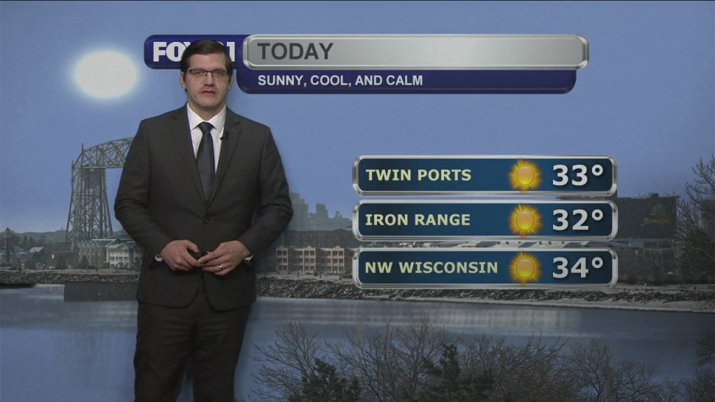 Tuesday, December 1, 2020 Morning Forecast