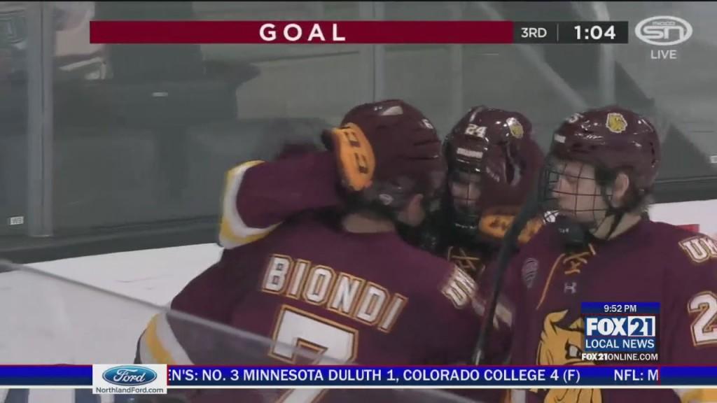 Umd Colorado College Hockey