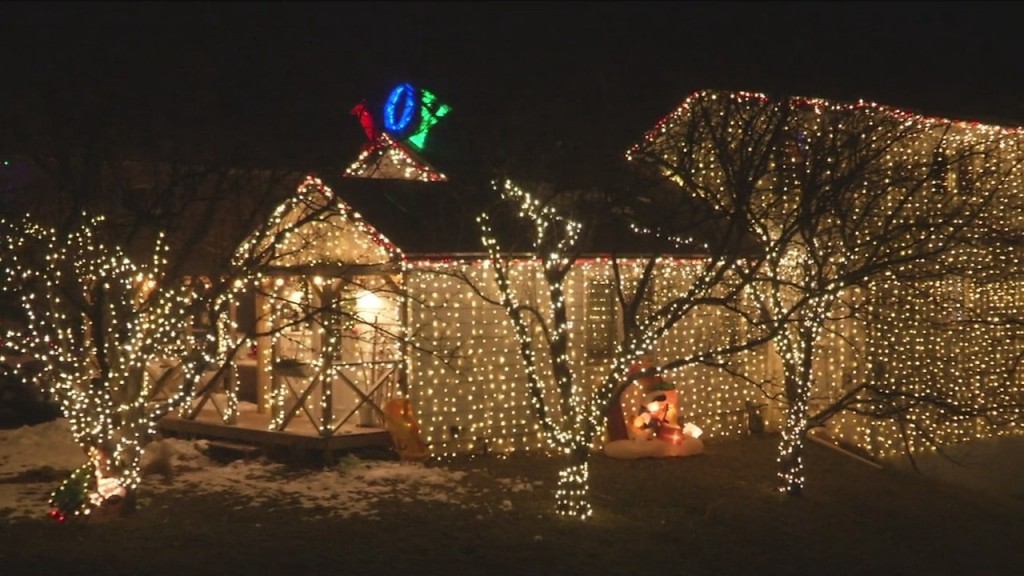 West Duluth Holiday Lights