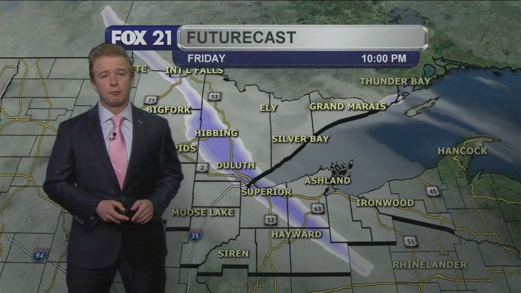 Friday Evening Northland Forecast