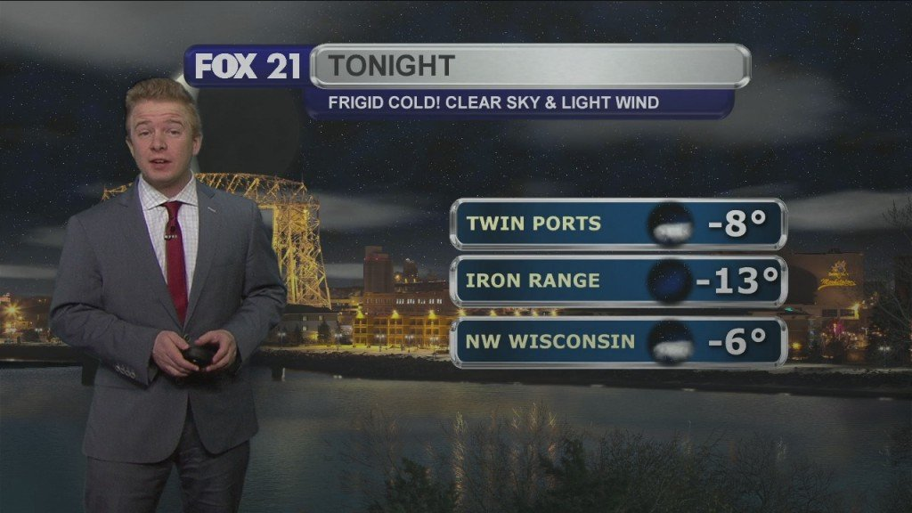 Thursday Evening Northland Weather Forecast