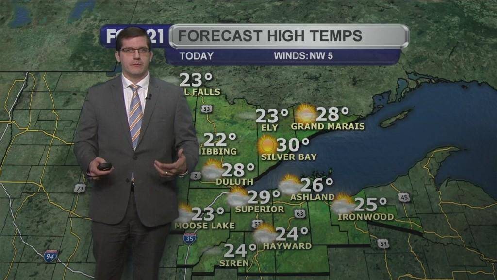 Friday, January 8, 2020 Morning Forecast