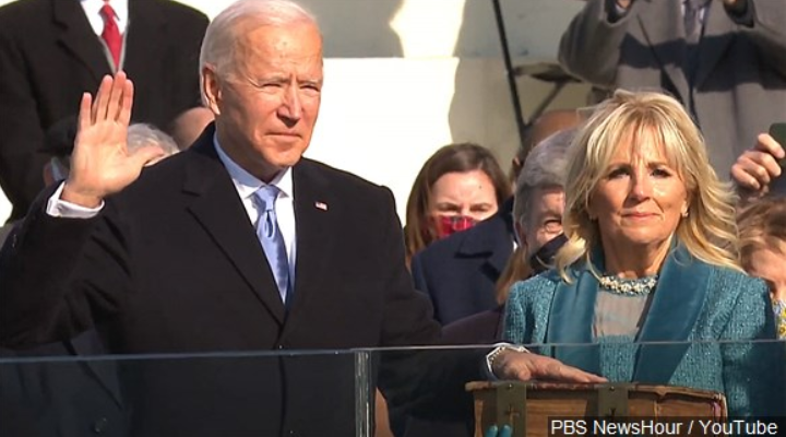 Biden Sworn In