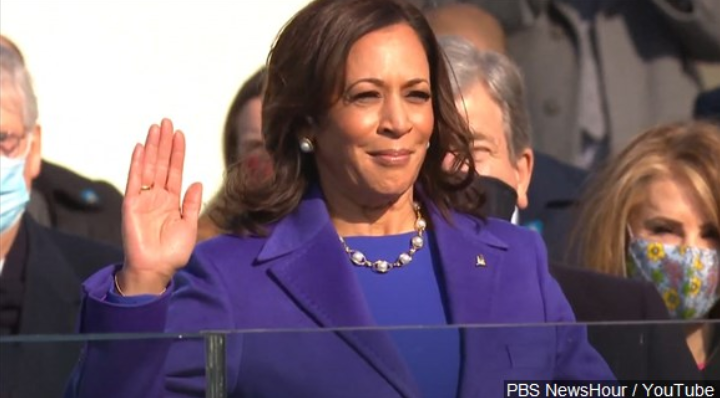 Harris Sworn In
