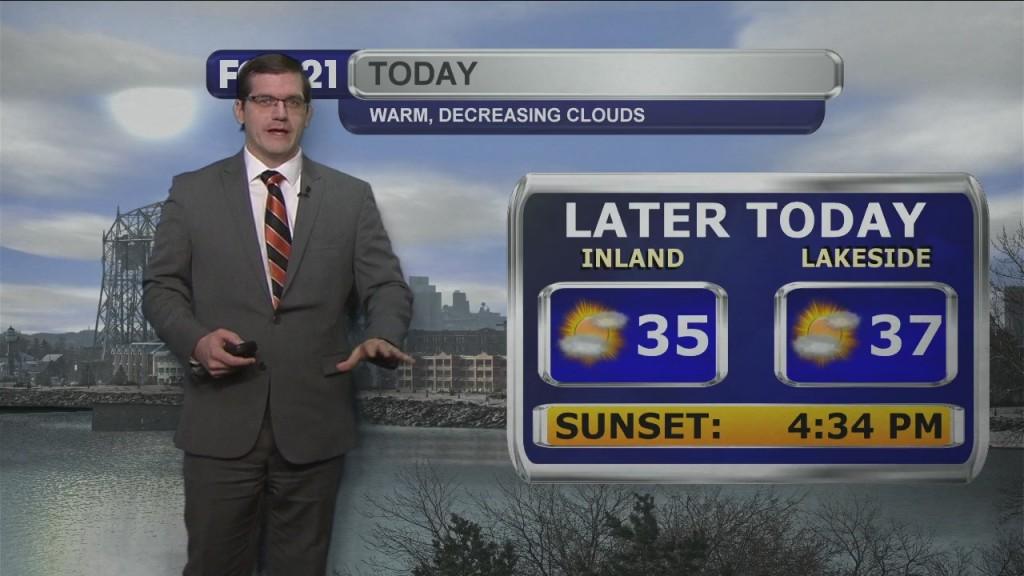 Monday, January 4, 2020 Morning Forecast