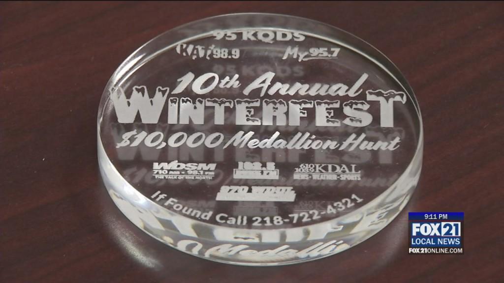 Medallion Hunt Canceled