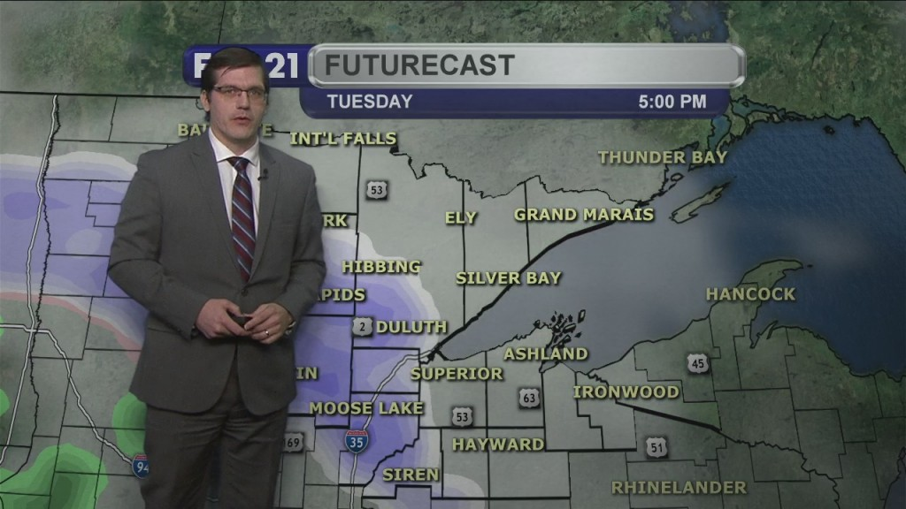 Monday, February 22, 2021 Morning Forecast