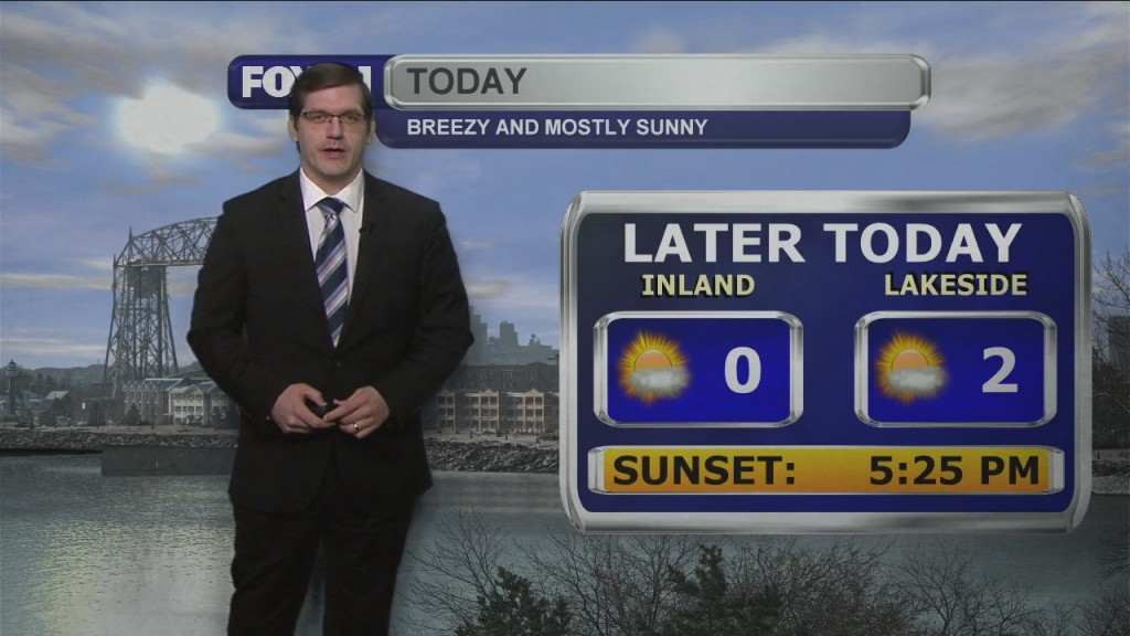Tuesday, February 9, 2021 Morning Forecast