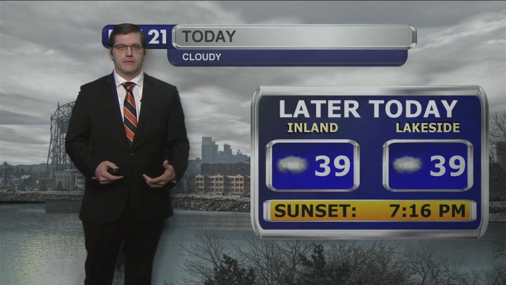 Tuesday, March 16, 2021 Morning Forecast