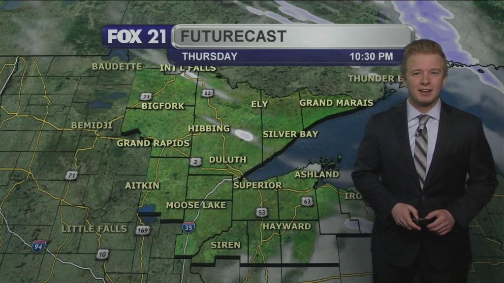 Thursday Evening Northland Forecast