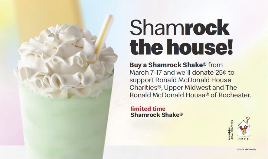Shamrock Shake Logo