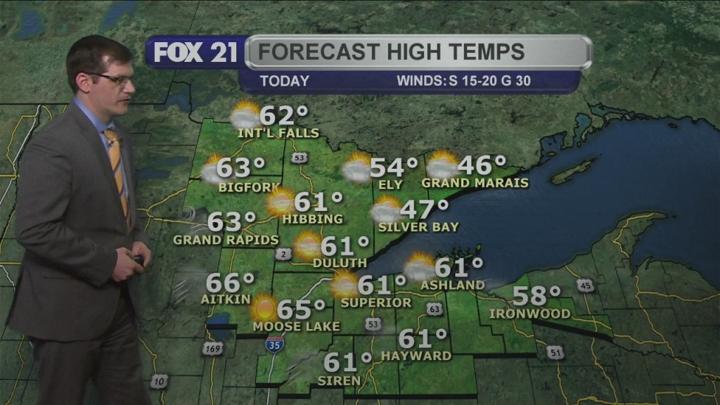 Monday, March 29, 2021 Morning Forecast