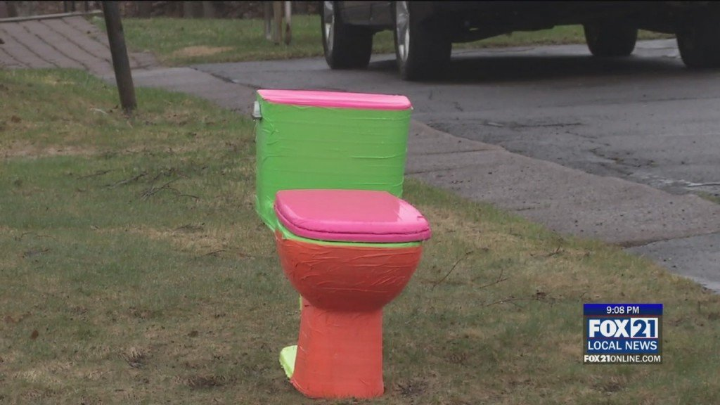 Yard Toilet