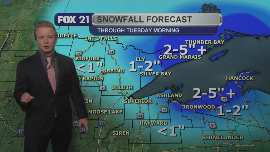 Upcoming Week Northland Forecast