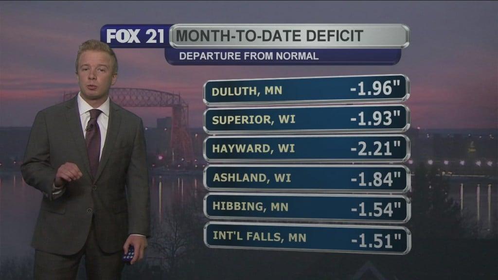 Midweek Northland Forecast